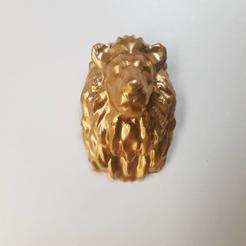 2 edit.png Télécharger fichier STL Lion géométrique • Design à imprimer en 3D, vitormedeirosdev88
