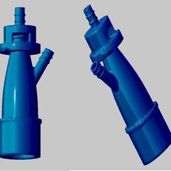 Download free 3D printer files Venturi valve respirator, angusruiz93