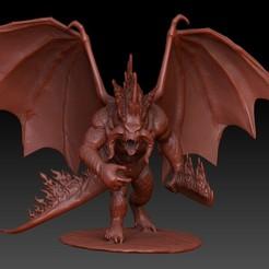 Front.jpg Télécharger fichier OBJ Balrog du Seigneur des Anneaux • Objet imprimable en 3D, VnBArt