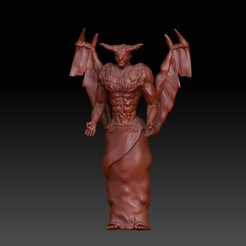 MephistoArmor.jpg Download OBJ file Demon / Mephisto / Blind Justice • 3D print template, VnBArt