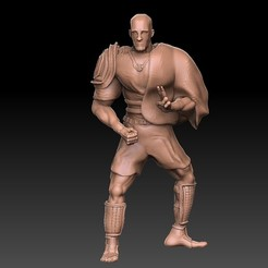 Pic1.jpg Download free OBJ file Human Monk • 3D printing model, VnBArt