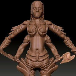 BodyCloseup.jpg Télécharger fichier OBJ Mère d'acier • Objet imprimable en 3D, VnBArt