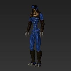 raziel34.jpg Download OBJ file Raziel Legacy of Kain • 3D printable design, VnBArt