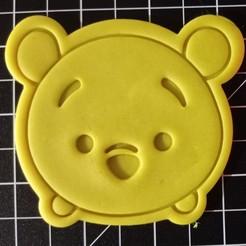 IMG_20201106_144716.jpg Télécharger fichier STL Coupe-biscuits Tsum Tsum Winnie Pooh • Modèle pour imprimante 3D, cesarlua92