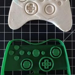 IMG_20200930_125429.jpg Descargar archivo STL Cortador de galletas del mando de Xbox • Modelo imprimible en 3D, cesarlua92
