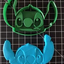 IMG_20200930_125439.jpg Download STL file Stitch Head Cookie Cutter • 3D printing model, cesarlua92