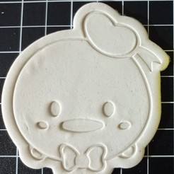 IMG_20201106_145456.jpg Download STL file Tsum Tsum Donald Cookie Cutter • 3D print design, cesarlua92