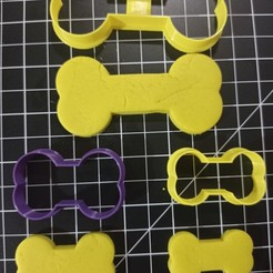 IMG_20201012_185703.jpg Download STL file Dog Bone Cookie Cutter • Object to 3D print, cesarlua92
