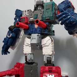 Download 3D model Parts for TRANSFORMERS TITANS RETURN FORTRESS MAXIMUS, chiu_creative