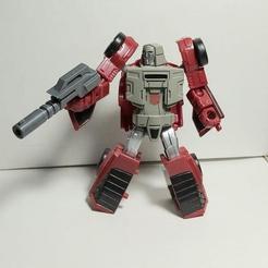 Download free 3D printer templates Transformers Hand Gun, chiu_creative