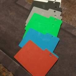 20200918_225419.jpg Download free STL file MTG Card Dividers (horizontal) • 3D printer template, bmaczero
