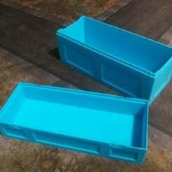 20200110_191949.jpg Download free STL file Magic: The Gathering Long Storage Box • 3D printer template, bmaczero