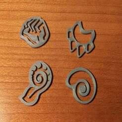 20191231_175831_1.jpg Download free STL file Spirit Island Branch & Claw Tokens • 3D print design, bmaczero