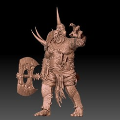1.jpg Download STL file Chaos Plague Giant • 3D printable model, ssharkus