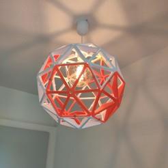 Download STL file Geodesic Sphere Lamp Shade  • 3D print design, aplisson71
