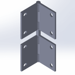 Download free 3D print files Double Hinge, andreac96