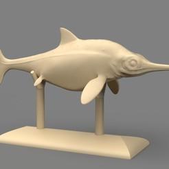 ophthalmosaurus-Cámara 1.251.jpg Download STL file Ophthalmosaurus • 3D print object, Ciro