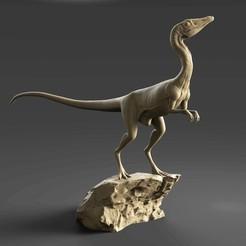 Compsognathus IG.jpg Download STL file Compsognathus full body - Jurassic Park • 3D printer template, Ciro