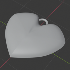 Download free 3D printing files Jewel for heart necklace, Gwenitora