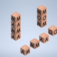 Download free 3D printer files given key ring, Rgc-3D