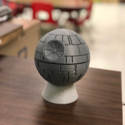 Download free 3D printing models Echo Dot 2 Death Star Stand, BigRed3234