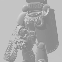 Heavy_Intercessors_Heavy_bolter.png Download free STL file Vanilla headless Heavily Intercessive Squad • 3D print model, agbamo