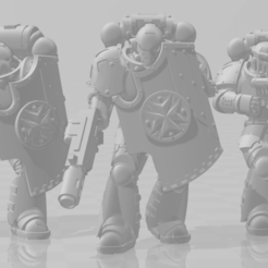Eradicators_v2_Full_squad.png Download free STL file Obscure Crusaders Eradication squad • Model to 3D print, agbamo