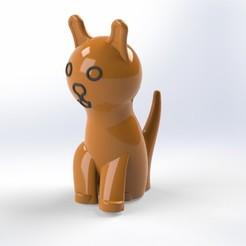 Download free 3D model Cat, laurens1952