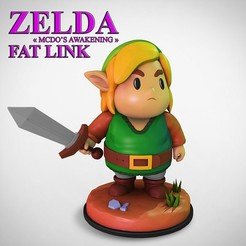 "Download 3D print files ZELDA ""Fat Link's awakening"", Zekiel"