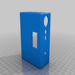 Descargar archivo 3D gratis Caja x OBS, tecnicalschoolpc