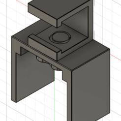 01-SupportCameraPS4.png Descargar archivo STL SOPORTE PLAYSTATION CAMERA VR PS4 • Objeto para impresión 3D, stephanedupuy3