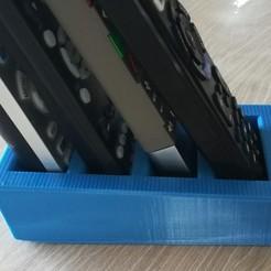 Descargar Modelos 3D para imprimir gratis Soporte para el control remoto, stephanedupuy3