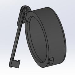 cap Riffle scope dia 50.PNG Télécharger fichier STL Cap for Rifle scope dia. 50mm • Modèle imprimable en 3D, VinceBee
