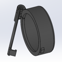 cap Riffle scope dia 50.PNG Download STL file Cap for Rifle scope dia. 50mm • 3D printer design, VinceBee