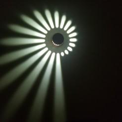 Descargar STL gratis una pared de luces, jackyhoy1199