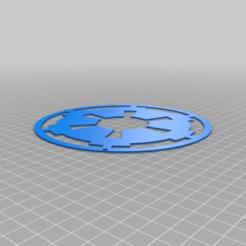 89d199312353ea18e2b35bb386cb3282.png Download free STL file Star Wars Imperial Logo Keychain • 3D printable model, Nilssen3DService