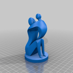 Download free STL file Mothers Day • 3D printer object, Nilssen3DService