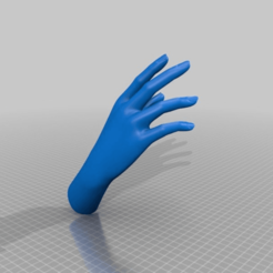 7669a09d2b88edb373b638a8d17fba1c.png Download STL file Female Hand • 3D printing object, Nilssen3DService