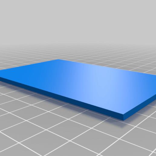 base.png Download free STL file Magnet Thermal Picture Frame • 3D print model, fotorius
