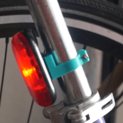 Download free 3D printer files CatEye Bicycle Taillight Holder, fotorius