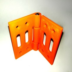 Download free STL file M3 Reinforced Hinge • 3D printable design, EnginEli