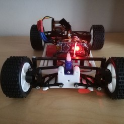 Download free STL file CARduino (1:18 arduino based RC car) • Template to 3D print, EnginEli