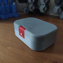 IMG_20200304_142058.jpg Télécharger fichier STL Boîte à cadenas simple • Design à imprimer en 3D, EnginEli