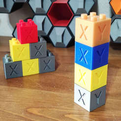 IMG_20201106_122015_331.jpg Download free STL file Lego Calibration Cube • 3D printer design, EnginEli