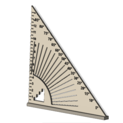 equerre 1.png Download STL file Square carpenter carpenter 15 cm • 3D printer template, AIRELLES