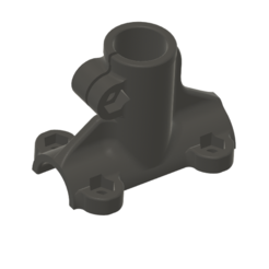 PU001.PNG Download STL file Desk clamp 22mm • 3D printable object, AIRELLES