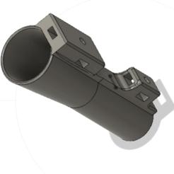bouchon 1.png Download free STL file Ergonomic quiver cap for a marker • 3D printable template, AIRELLES