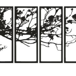 ceri.png Télécharger fichier STL Cadre mural • Modèle pour impression 3D, AIRELLES