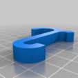 Descargar Modelos 3D para imprimir gratis Enganche el gancho para estantes de alambre 2, Bakefy