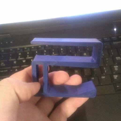 IMG_20150324_232025.jpg Télécharger fichier STL gratuit Crochet pour casque d'écoute - 17,1 MM • Modèle à imprimer en 3D, Bakefy